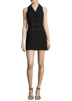 Nanette Lepore Sleeveless Double-Breasted Coat Dress