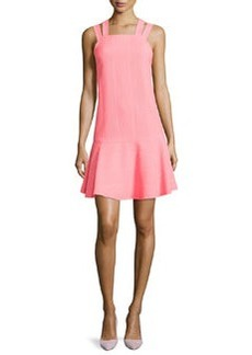 Nanette Lepore Sleeveless Dress with Dropped Waist