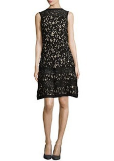 Nanette Lepore Sleeveless Lace Drop-Waist Dress