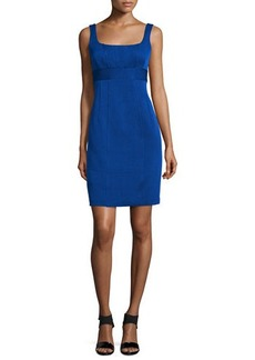 Nanette Lepore Sleeveless Skinny-Stripe Sheath Dress