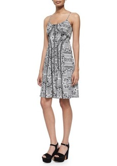 Nanette Lepore Sleeveless Truth or Flare Dress  Sleeveless Truth or Flare Dress