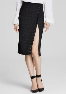 Nanette Lepore Sneak-A-Peak Skirt