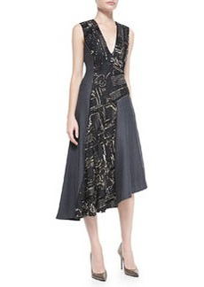 Nanette Lepore Sparkle & Shine Beaded Dress