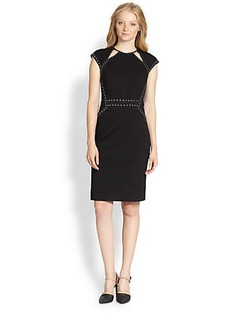 Nanette Lepore Studded Trampoline Dress