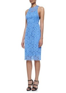 Nanette Lepore Sultry Lace Cocktail Dress, Periwinkle