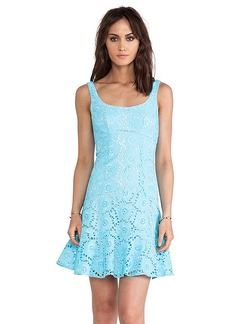 Nanette Lepore Summer Dress in Blue