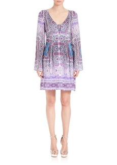 Nanette Lepore Sunlit Scarf Dress