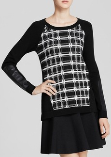 Nanette Lepore Sweater - First Edition Plaid