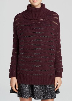 Nanette Lepore Sweater - Sparkle Yarn Turtleneck