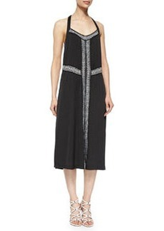 Nanette Lepore Tango Paisley Embroidered Dress