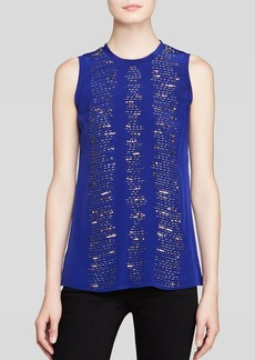 Nanette Lepore Tank - Entertainer Silk