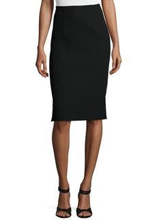 Nanette Lepore Textured Pencil Skirt  Textured Pencil Skirt