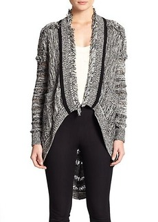 Nanette Lepore Thatched Roof Cardigan