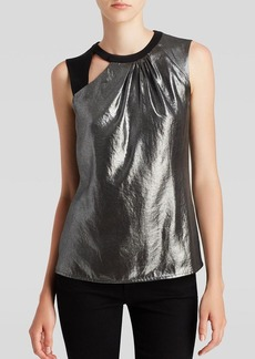 Nanette Lepore Top - All-Nighter Metallic