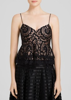 Nanette Lepore Top - Courtesan Lace