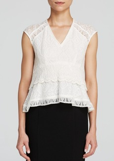 Nanette Lepore Top - Traveler Lace