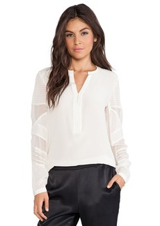 Nanette Lepore Trail Me Top in Ivory