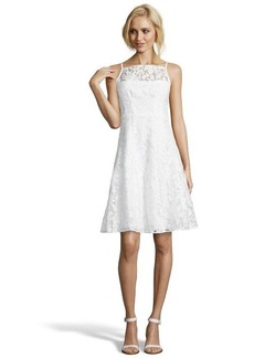Nanette Lepore white embroidered 'Beach Breeze' a-line dress