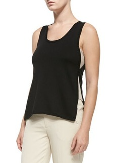 Nanette Lepore Wilderness Tank W/ Contrast Sides