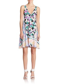 Nanette Lepore Wildflower Printed Silk Dress