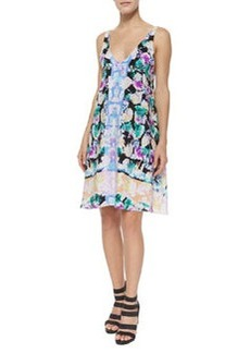 Nanette Lepore Wildflower Sleeveless Cocktail Dress
