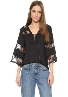 Nanette Lepore Wind Song Top