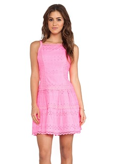 Nanette Lepore Wind Swept Dress in Pink