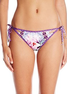 Nanette Lepore Women's Bollywood Vamp Side-Tie Bikini Bottom