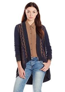 Nanette Lepore Women's Cross Examine Cashmere-Blend Open-Cardigan Sweater