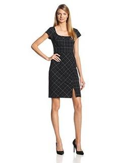Nanette Lepore Women's Deans List Plaid Sheath Dress