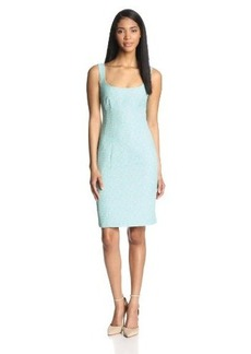 Nanette Lepore Women's Demure Tweed Sleeveless Sheath Dress
