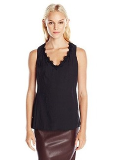 Nanette Lepore Women's Electric Tank, Black, Medium