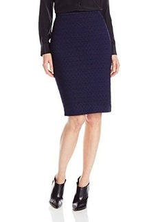 Nanette Lepore Women's Embrace Me Skirt, Navy, 6