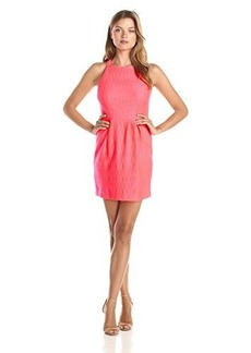 Nanette Lepore Women's Feelin' Lucky Knit Dress, Flamingo, 2