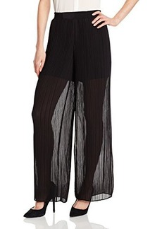 Nanette Lepore Women's Ferris Wheel Pleated Wide Leg Pant