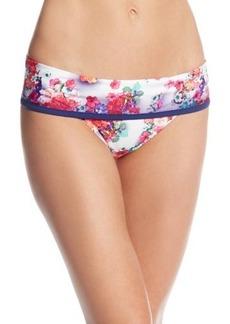 Nanette Lepore Women's Fleur De La Mer Dreamer Bikini Bottom