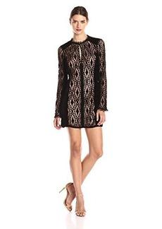 Nanette Lepore Women's Lacy Lady Dress, Black, 2