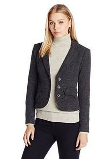 Nanette Lepore Women's Looking Glass Jacket, Charcoal, 14
