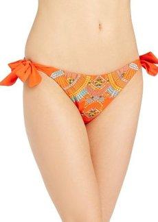 Nanette Lepore Women's Mayan Riviera Vamp Tie-Side Bikini Bottom