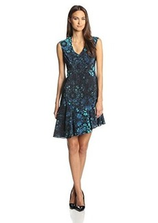 Nanette Lepore Women's Mystery-Floral Silk Asymmetrical Dress