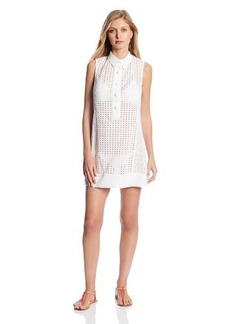 Nanette Lepore Women's Ooh La La Eyelet Short Dress