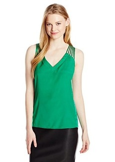 Nanette Lepore Women's Othello Silk Sleeveless Blouse