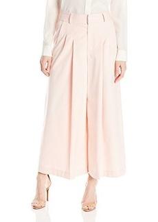 Nanette Lepore Women's Promenade Wide Leg Culotte Pant, Light Pink, 8