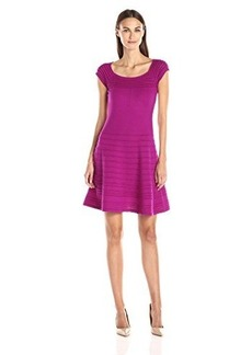 Nanette Lepore Women's Romantic Dress, Raspberry, X-Small