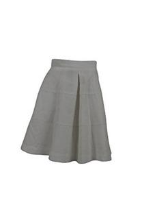 Nanette Lepore Women's Sassy Flared Skirt, White, 2