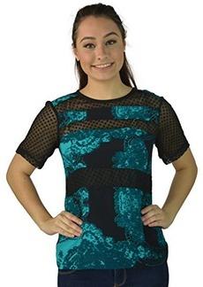 Nanette Lepore Women's Short Sleeve Blouse X-Small Cheri Top