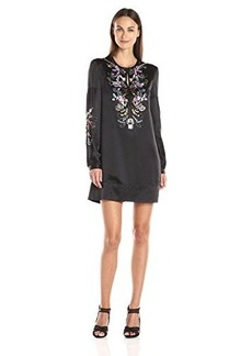 Nanette Lepore Women's Spangle Tunic, Black/Multi, Medium