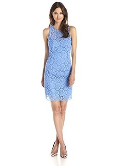 Nanette Lepore Women's Sultry Lace Sheath Dress, Periwinkle, 10