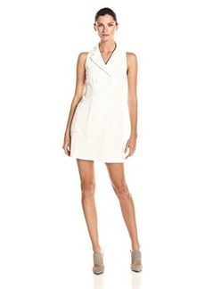Nanette Lepore Women's Venture Vest Dress, White, 12