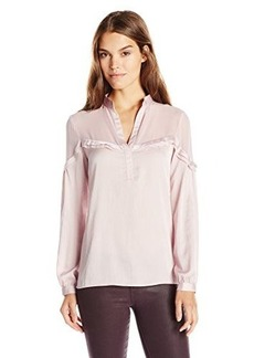 Nanette Lepore Women's Whisper Top, Pale Pink, Small